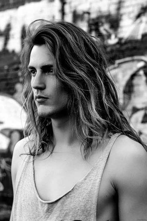 Men with Long Hairstyles-11