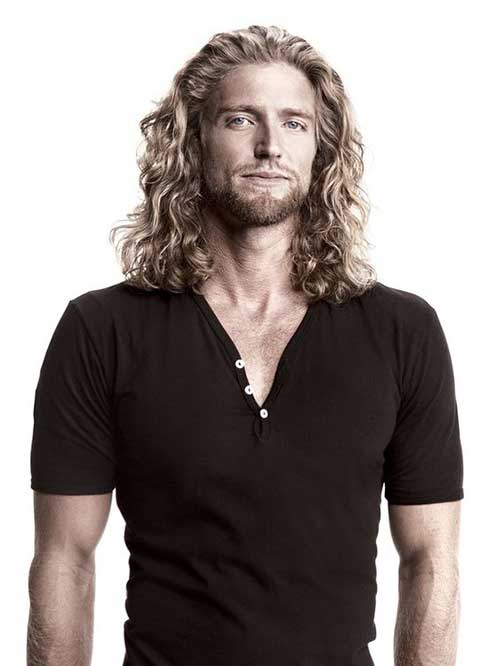 Men with Long Hairstyles-7