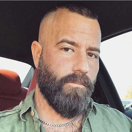 Stylish Bearded Guys And Cool Hairstyles The Best Mens