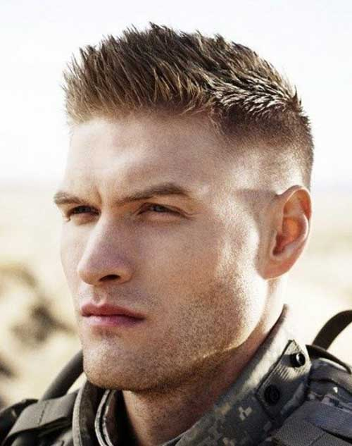 Army Short Haircuts for Men