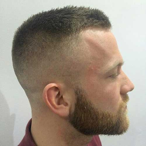 Army Style Short Hair for Men
