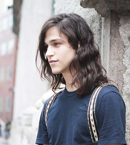 Long Hair Styles for Men