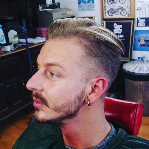 Thin Men Hairstyles