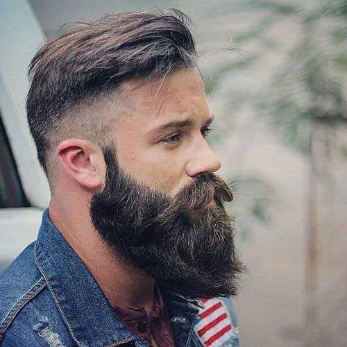 Masculine Beard Styles for Guys-10
