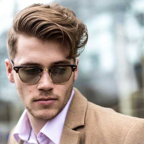 Side Part Hairstyles for Men-10