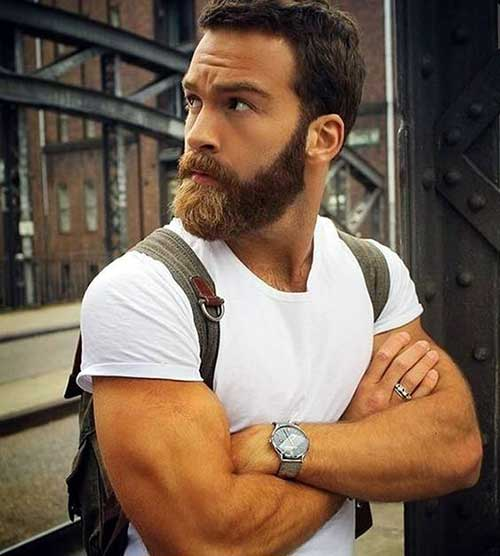 Masculine Beard Styles for Guys-11