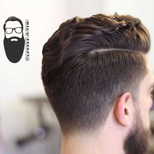 Side Part Hairstyles for Men-11