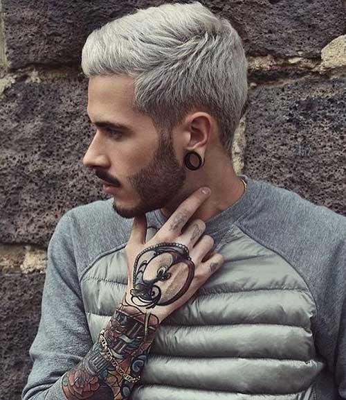 10 unique hair colors for men mens hairstyles 2018