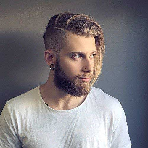 Side Part Hairstyles for Men-13