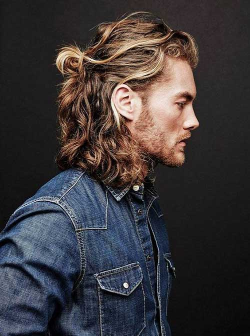 Men with Curly Hairstyles-14