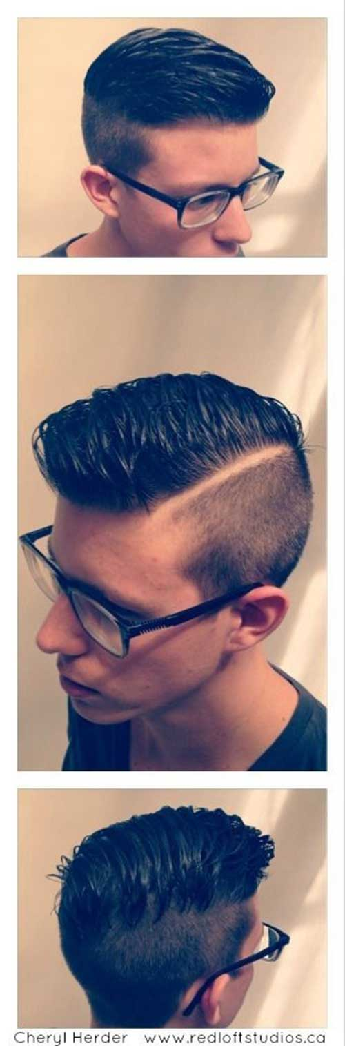 Side Part Hairstyles for Men-14