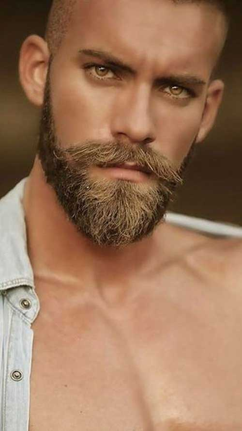 Masculine Beard Styles for Guys-7