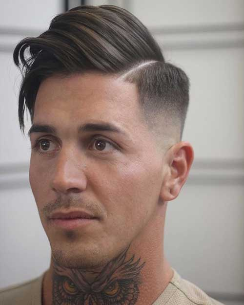 Side Part Hairstyles for Men-7