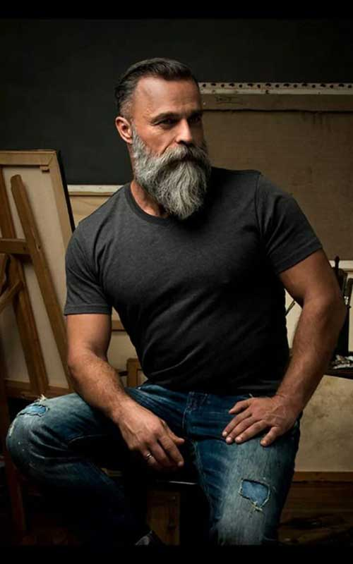 Masculine Beard Styles for Guys-8