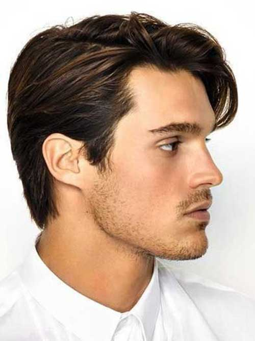 Medium Haircuts for Men-8