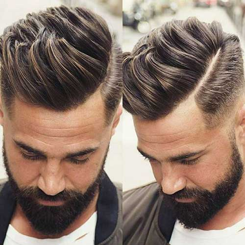 Side Part Hairstyles for Men-8
