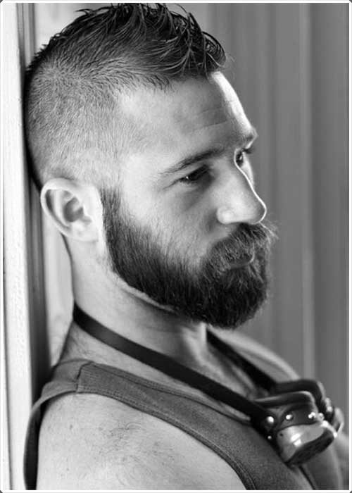 Masculine Beard Styles for Guys-9