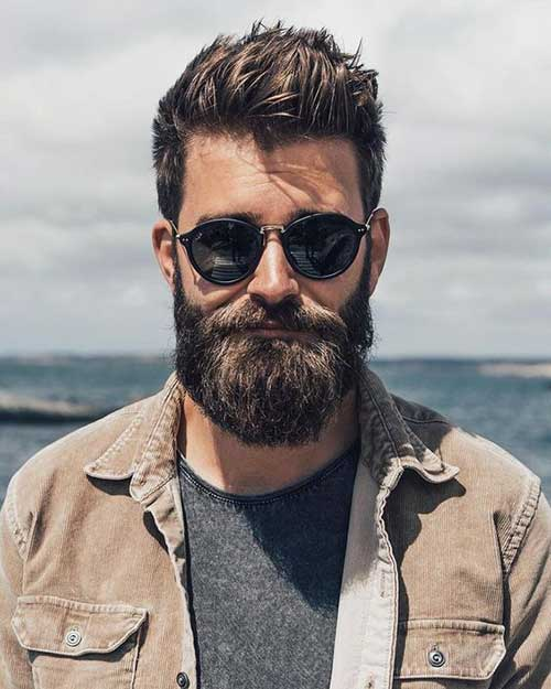 Amazingly Masculine Beard Styles For Guys Mens