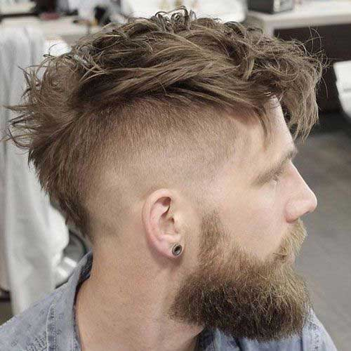 Messy Hairstyles Men