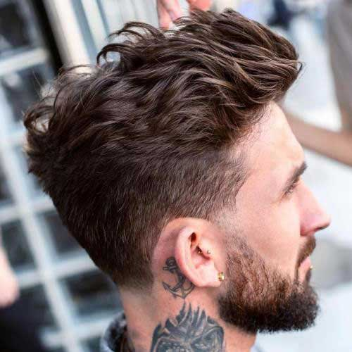 Messy Hairstyles for Guys