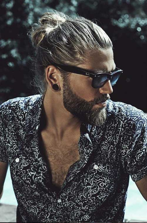Striking Beard And Hairstyles For Men The Best Mens