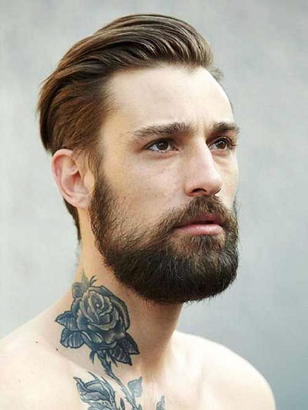 Mens Hairtyle for Straight Hair, Mens Men Hairtyles Beard
