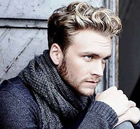 12 Short Wavy Hairstyles for Men | Mens Hairstyles 2018