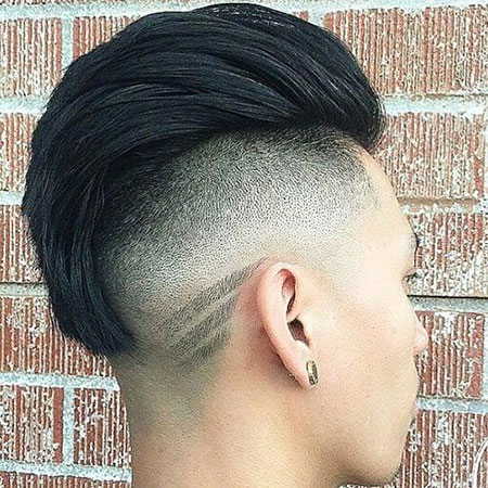 Style Fade Back Hair
