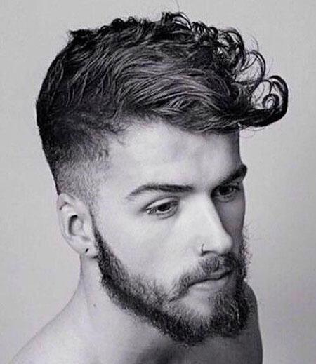 Mens Fade Curly Jamie