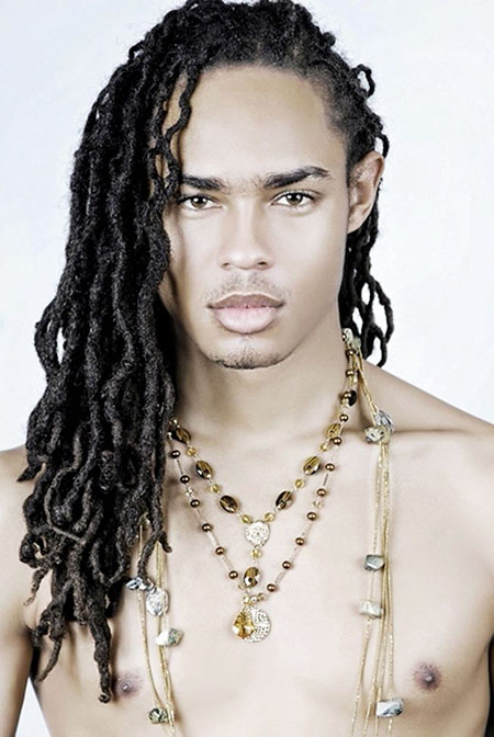 Men Dreadlocks Hair Locs