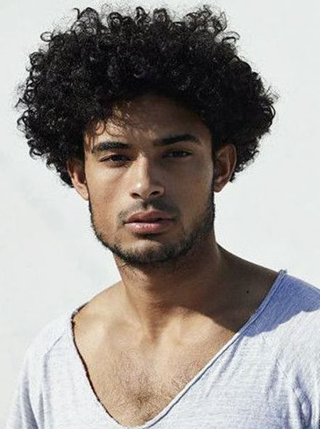 20 Male Hairstyles For Curly Hair The Best Mens