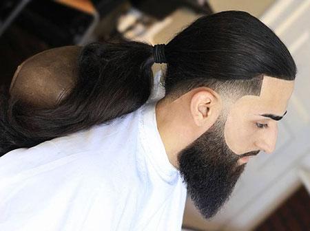 Hair Fade Taper Long