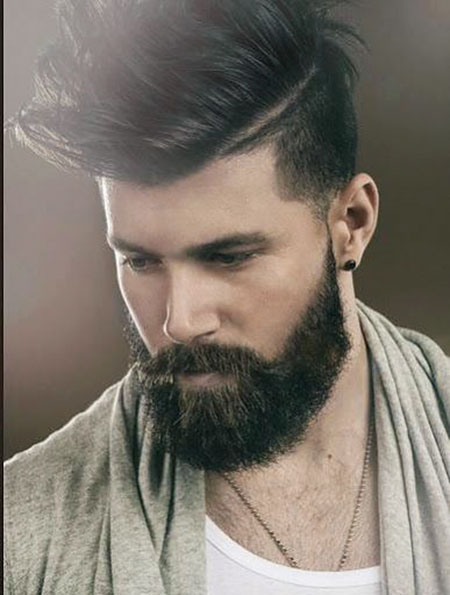 Beard Mens Hairtyles Cool
