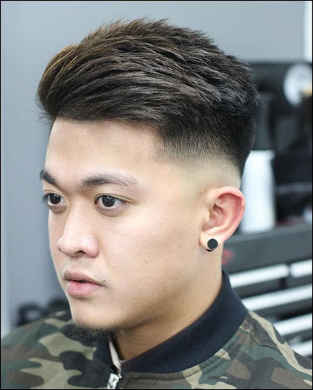 Crew Cut, Fade Haircut Mens Hairtyles