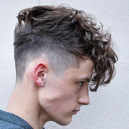 Thick Hair, Curly Taper Hair Hairtyles