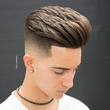 Trendy Hair, Fade New Men Mens