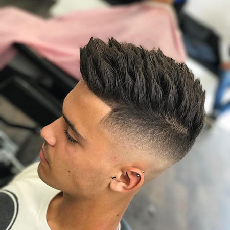 New Men Hairtyle, Fade Men Short Haircuts