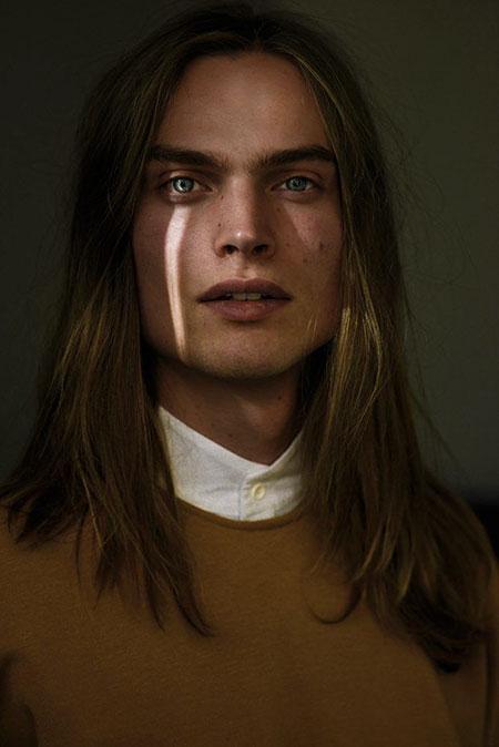 Long Straight Gair, Faces Portraits Beckett Kate