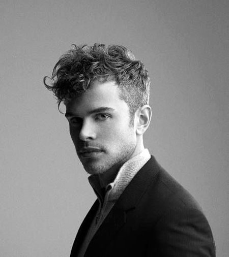 Short Wavy Hairtyle for Men, Curly Men Pace Dornan