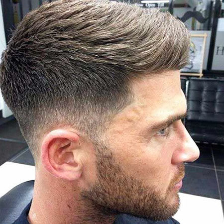 Fade Men Short Haircut