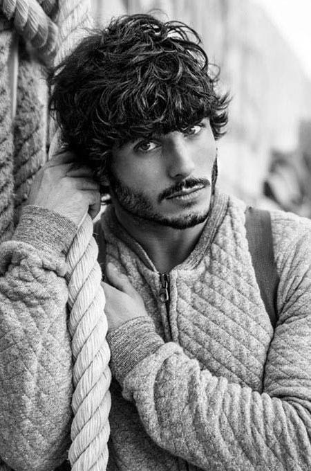 Curly Long Aidan Ian