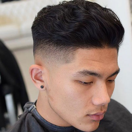 Thick Hair, Fade Wavy Hairtyles Top