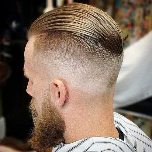 Back View of Short Haircuts for Men-10