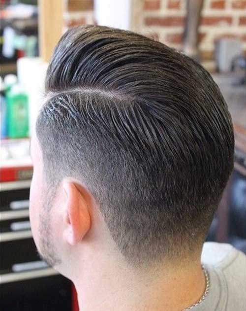 Back View of Short Haircuts for Men-13