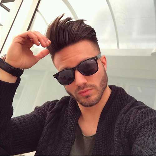 Pompadour Hairstyles for Men 2018-13