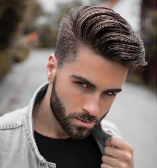 Pompadour Hairstyles for Men 2018-14