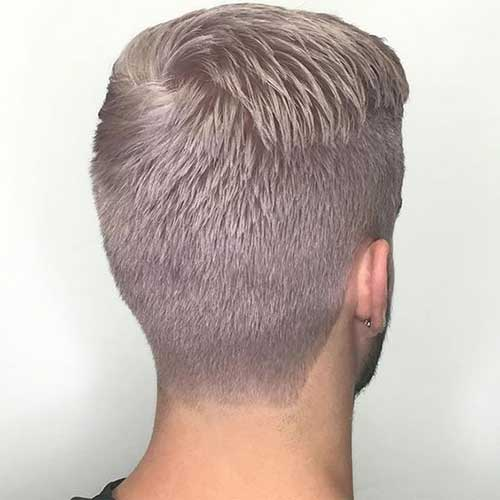Back View of Short Haircuts for Men-15