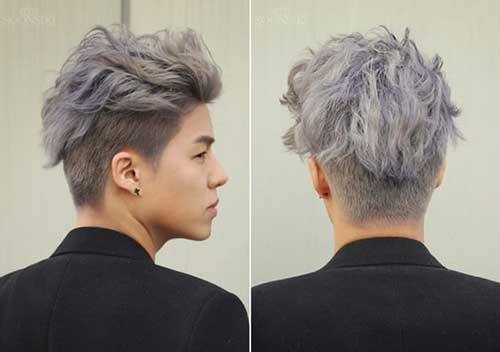 Back View of Short Haircuts for Men-16