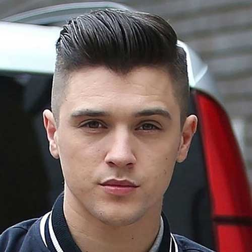 Pompadour Hairstyles for Men 2018-16