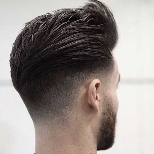 Back View of Short Haircuts for Men-17